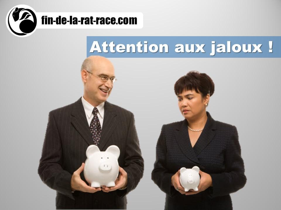 Comment faire face à la jalousie dans votre chemin vers la liberté financière ?