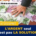 Liberté financière : L'argent seul n'est pas la solution