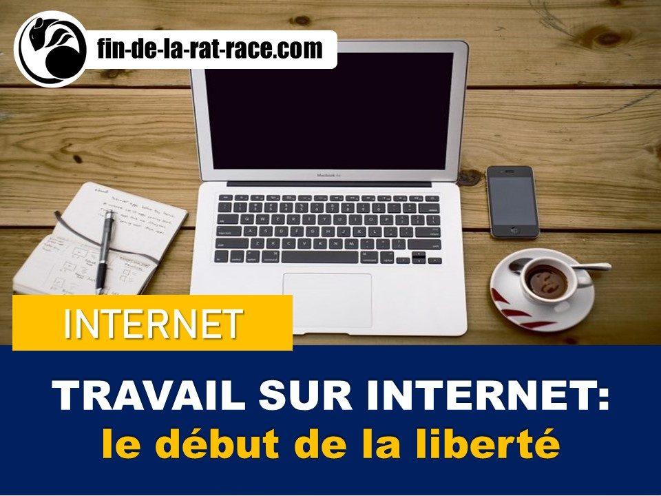 Sortir de la Rat Race : travailler de chez soi grâce à internet, le début de la liberté