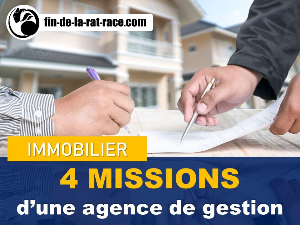 Investissement immobilier : 4 missions d'une agence immobilière de gestion