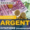 10 citations sur l'argent
