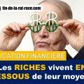 Liberté financière : vivez comme les riches, vivez en dessous de vos moyens
