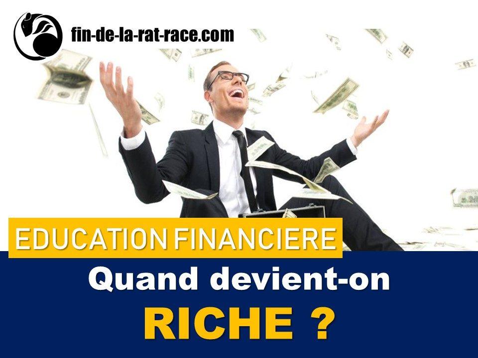 Liberté financière : à partir de quand devient-on riche ?
