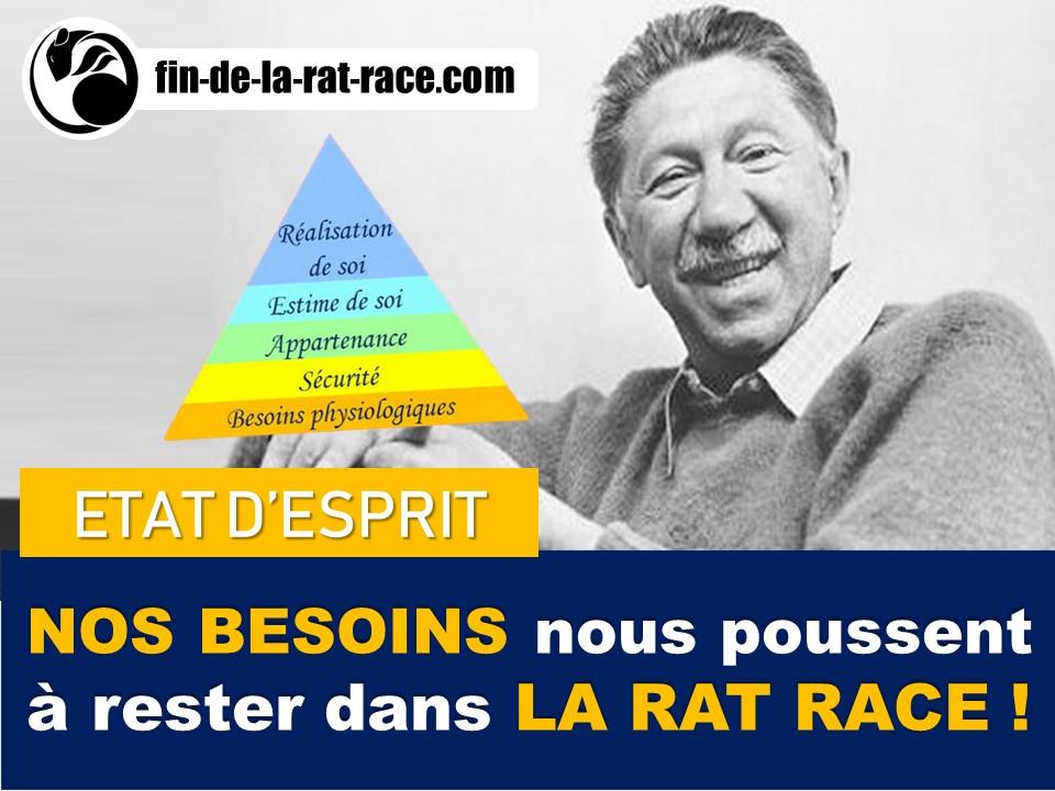 Comment nos besoins nous poussent à rester dans la Rat Race ?