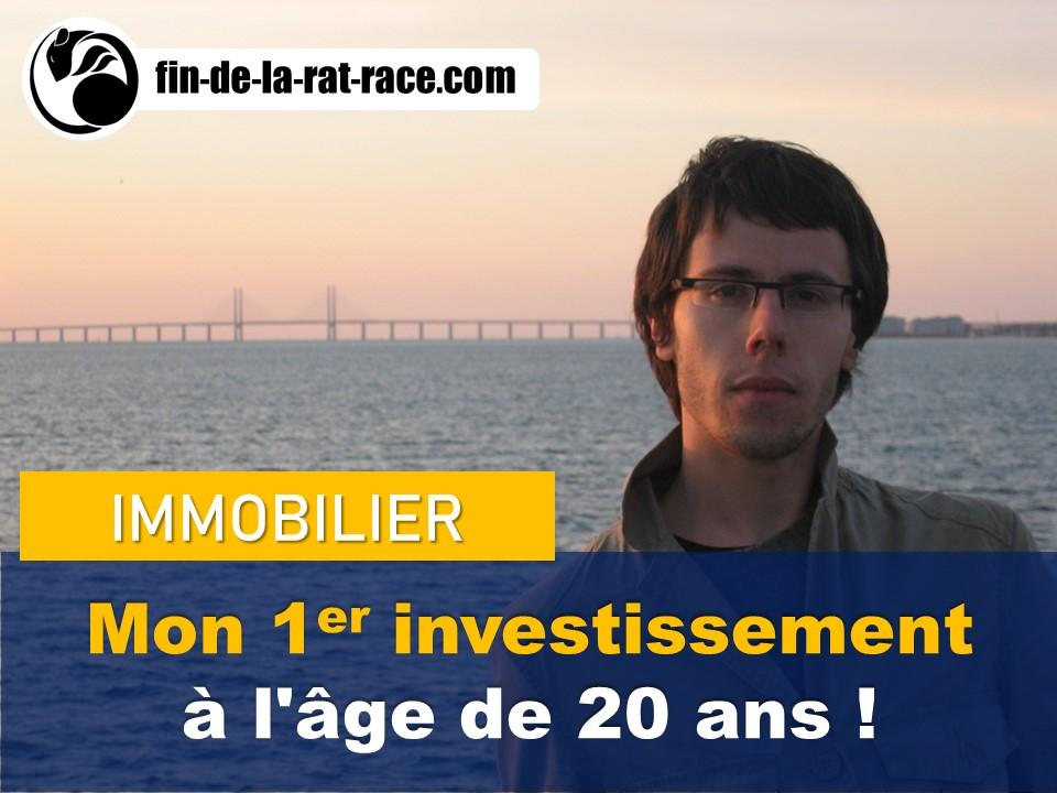 Ma liberté financière : investissement immobilière à l'âge de 20 ans