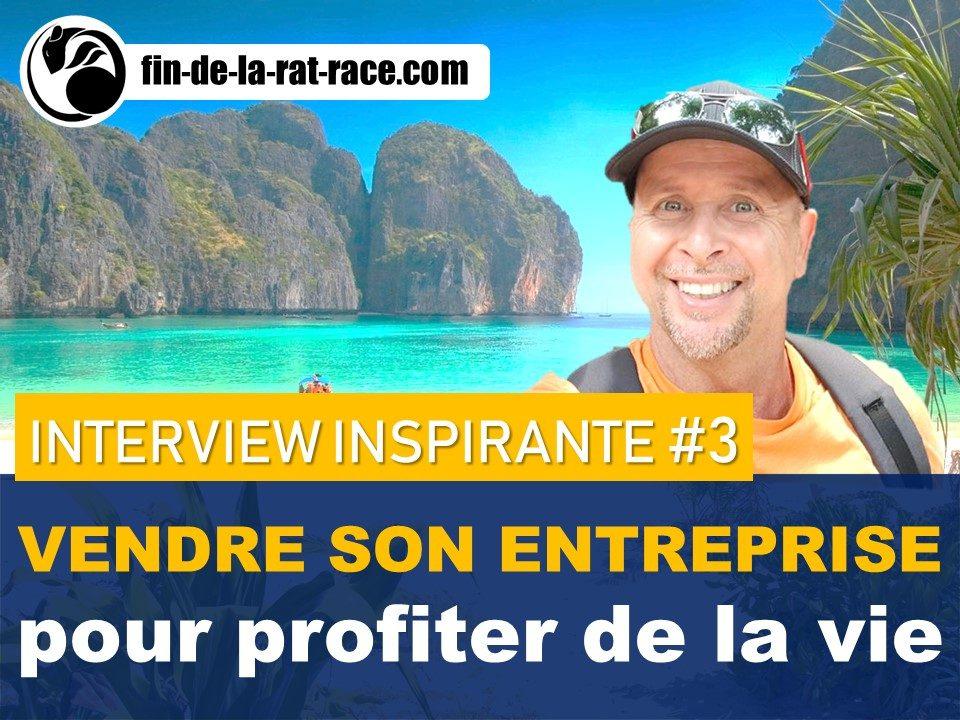 Liberté financière : Christophe a vendu son entreprise pour profiter la vie en Thaïlande