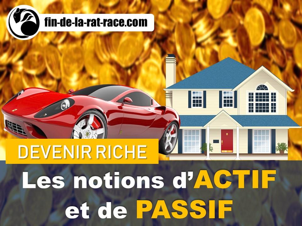 Liberté financière : notions d'actif et de passif
