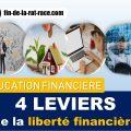 4 leviers de la liberté financière