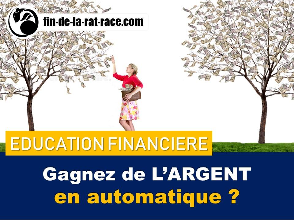 Liberté financière : comment gagner de l'argent en automatique avec les revenus passifs ?