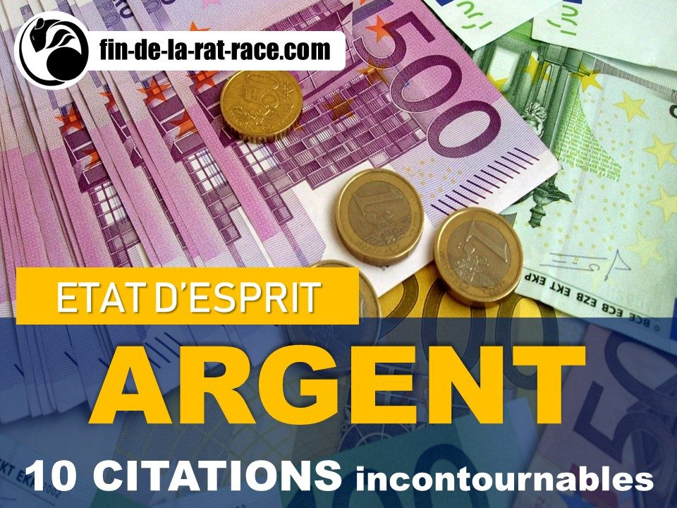 10 citations sur l'argent