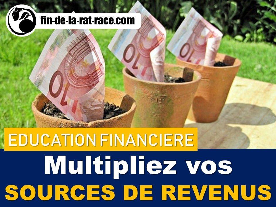 Liberté financière : pourquoi et comment diversifier ses sources de revenus