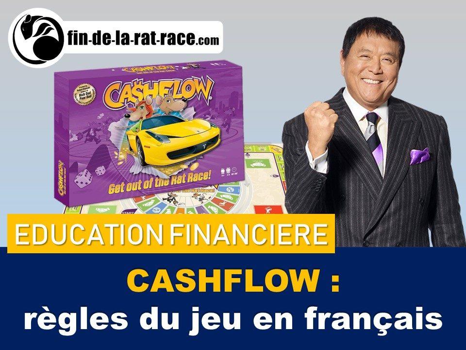 Liberté financière : le jeu Cashflow en français