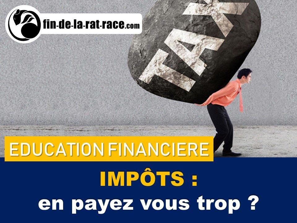 Liberté financière et frugalisme : français payent trop d'impôts ?