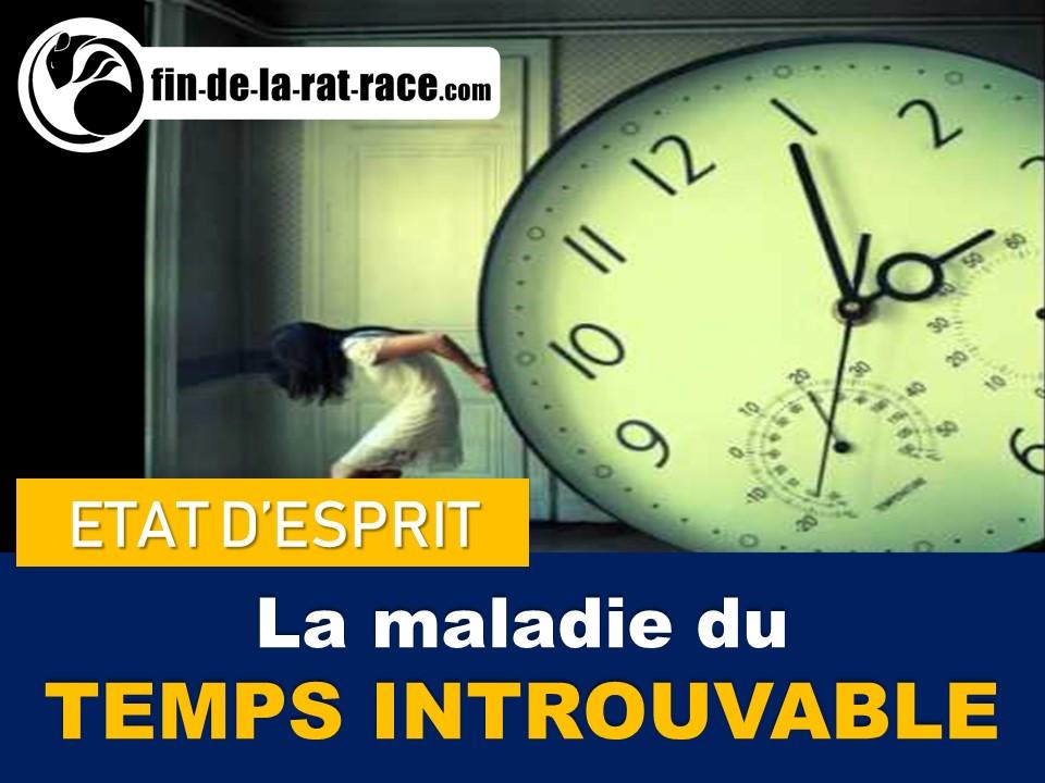Liberté financière et la Rat Race : la course après le temps