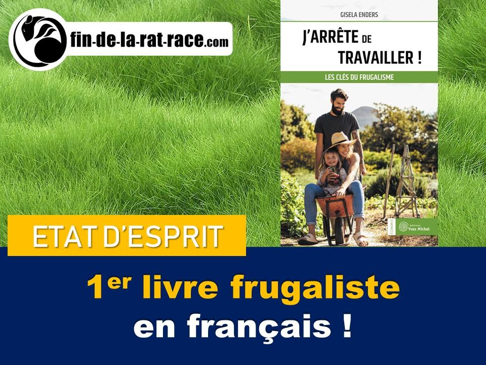 Premier livre sur le frugalisme en français