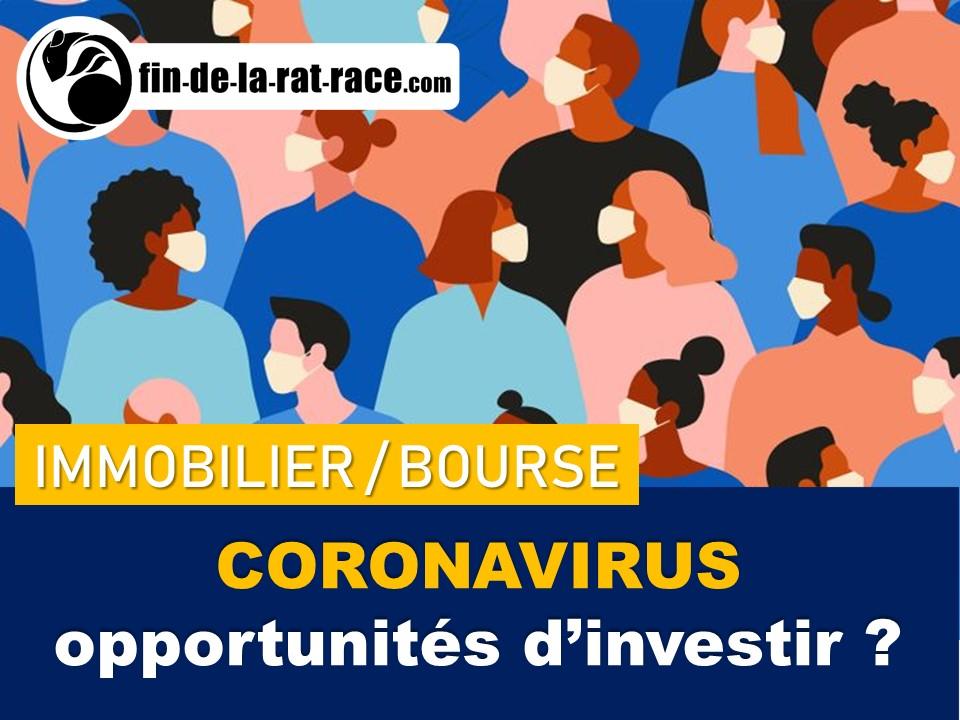 Coronavirus : risques et opportunités pour les investisseurs